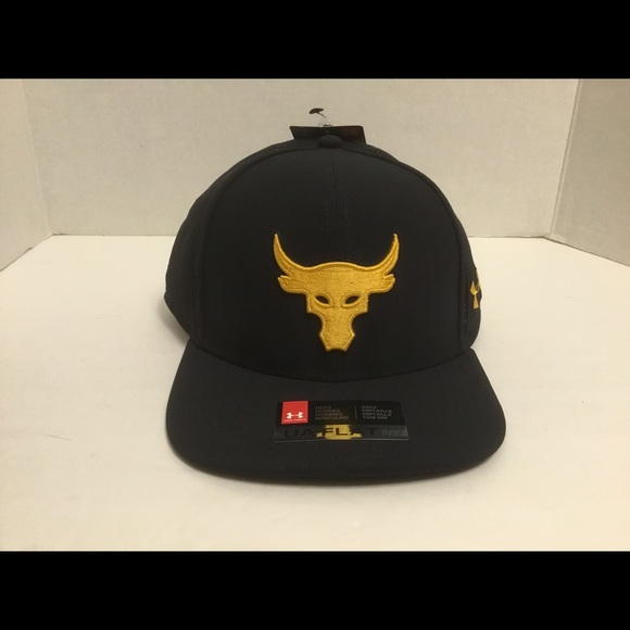 Under Armour x Project Rock Supervent SnapBack Hat 376f287eb68